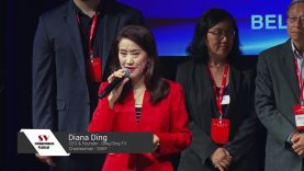 Opening Ceremony speech on the 4th Silicon Valley Entrepreneurs Festival by Diana Ding