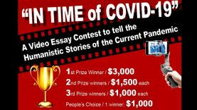 """""""In time of COVID-19"""" – Video & Essay Contest  on the Humanistic Stories of the Current Pandemic"""
