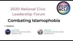 2020-NCLF Combating Islamophobia