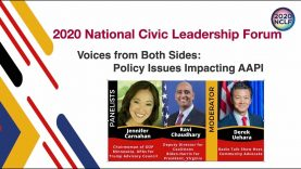 2020 NCLF-Voices from Both Sides: Policy Issues Impacting AAPI