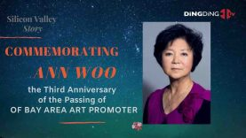 Hundred people gathering online Commemorating the third anniversary of the passing of Bay Area art promoter Ann Woo.