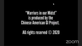 Veterans Day, a special event WARRIORS IN OUR MIDSTS – A CHINESE AMERICAN VETERANS DAY RETROSPECTIVE was on Ding Ding TV Youtube Channel