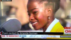 Amanda Gorman, Poem Recite at inauguration