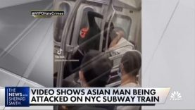 A violent attack against an Asian man aboard a Brooklyn subway train, A discussion was held on Clubhouse