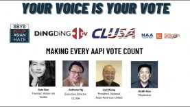 Panel 2-Making Every AAPI Vote Count-Civic Leadership Forum – Your Voice is Your Vote