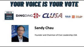 Sandy Chau-Civic Leadership Forum – Your Voice is Your Vote