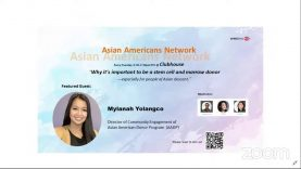 Asian Americans Network – What it means to be a stem cell and marrow donor and why it's important to be one—especially for people of Asian descent