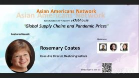 Asian Americans Network @ Clubhouse – Global Supply Chains and Pandemic Prices